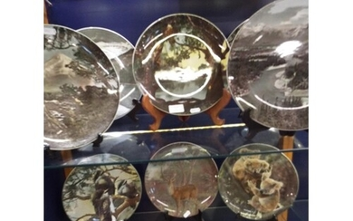 A selection of Royal Doulton collectors plates to include D6...