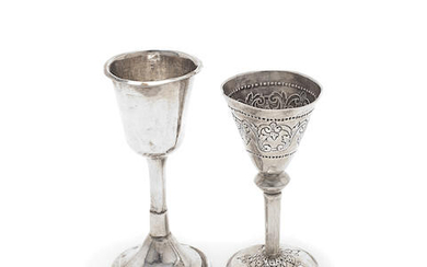 An 18th century Norwegian silver cup