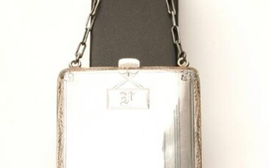 Antique Sterling Silver Cocktail Coin Purse