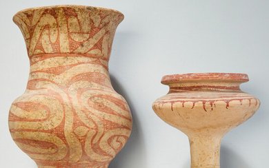 Ban Chiang, (2) Thai painted pottery vessels