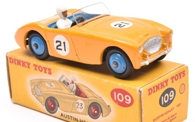 Dinky Toys Austin-Healey '100' Sports (109). An example in d...