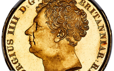 Great Britain: , George IV gold 2 Pounds 1823 MS66+ NGC,...