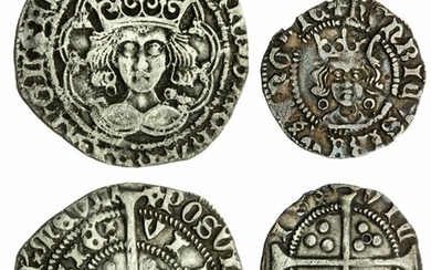 Henry VI, First Reign (1422-1461), Annulet Issue, 1422-1427, Calais (2)
