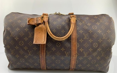 Louis Vuitton - Keepall 50 Bandouliere Monogram - Travel bag
