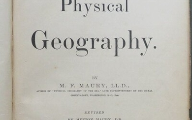 Maury, Physical Geography Revised Ed. 1892 Maps