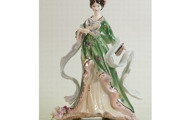 Royal Worcester large figure Willow Princess: Limited editio...
