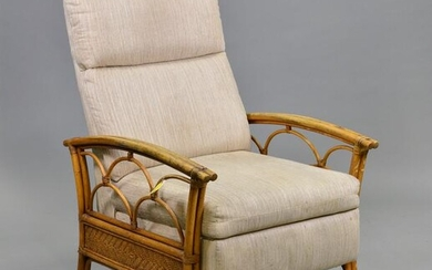 Tiki / Paul Frankl / Ficks Reed Style Lounge Chair