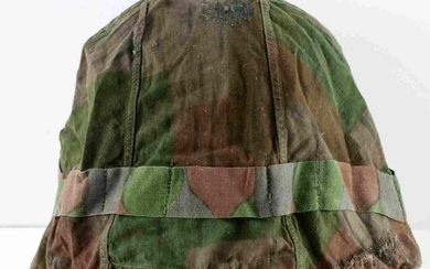 WWII GERMAN REICH ARMY CAMOUFLAGE HELMET COVER