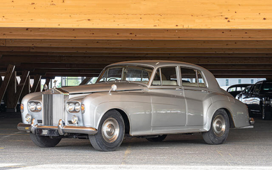 1963 Rolls Royce Silver Cloud III Saloon, Chassis no. SDW69 Engine no. S995