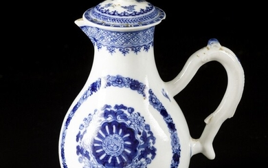 A porcelain pitcher with floral decoration for the Persian market, China, 18th century.