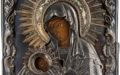 AN ICON SHOWING THE MOTHER OF GOD 'SOOTHE MY...