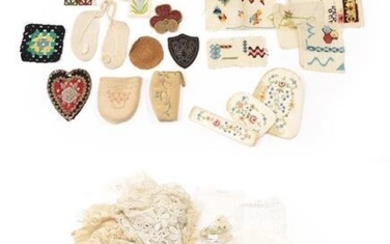 Assorted Early 20th Century Lace, including a Honiton collar and...