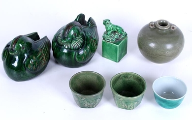 Chinese Green Pottery (seven)