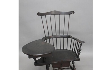 D. R. DIMES - AMERICAN WINDSOR CHAIR The Comb back writing a...