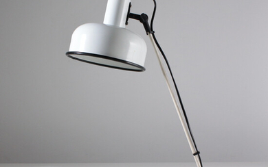 Minimalist desk lamp from the 1980s.