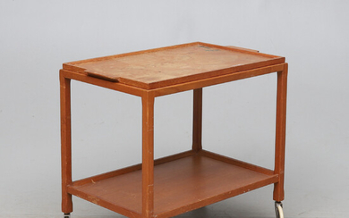 SERVING TROLLEY, mid-20th century.