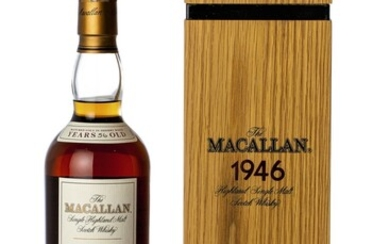 The Macallan Fine & Rare 56 Year Old 44.3 abv 1946 (1 BT75)