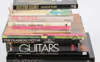 15 Guitar reference books