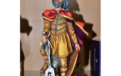 A ROYAL DOULTON FIGURE, Alfred The Great HN3821, height 24.5...