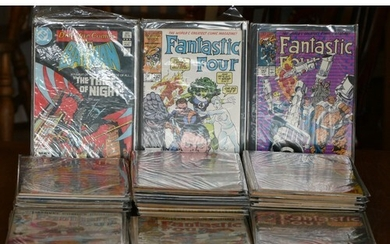 A collection of Marvel Fantastic Four Comic books (sealed), ...