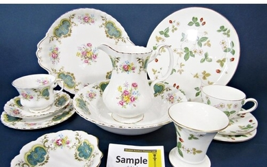 A collection of Royal Albert Berkeley pattern wares comprisi...