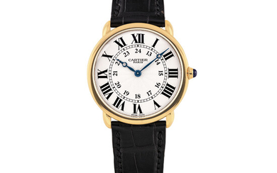 "CARTIER, PINK GOLD, ""CPCP"" RONDE LOUIS CARTIER"