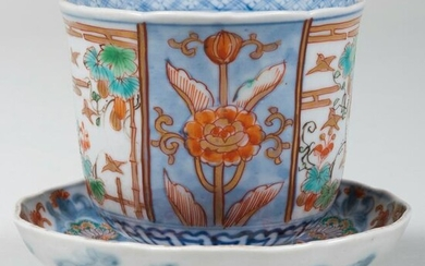Chinese Porcelain Tea Bowl and Saucer