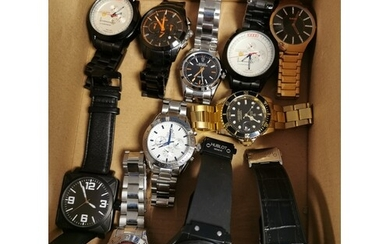 Collection of Gents Wristwatches