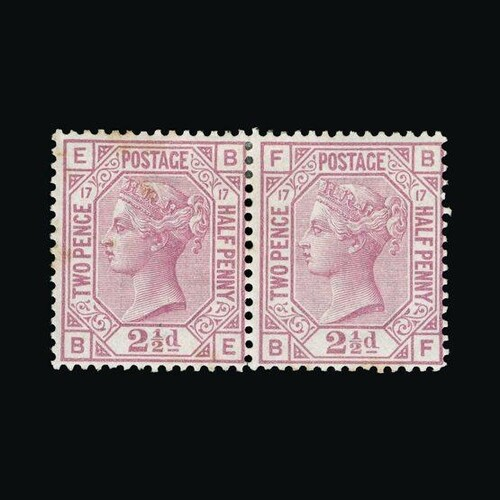 Great Britain - QV (surface printed) : (SG 141) 1873-80 2½d ...