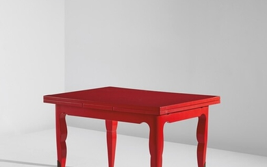 In the style of Jean Saint-Georges, Extendable table