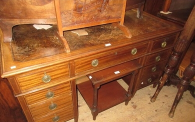 Late 19th / early 20th Century mahogany crossbanded and line...