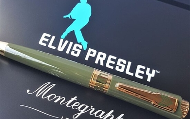 Montegrappa - Elvis Presley Limited Edition #413 Gold - New - Ballpoint