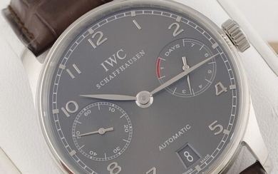 Portoghese Ref.5001 - Oro Bianco , From the First Owner, Iwc