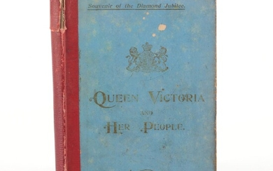 """""""Queen Victoria and her People"""" by C. S. Dawe, c. 1894"""