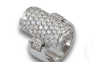 RING WHITE GOLD DIAMONDS 3.62CTS AN.WHITE GOLD.593