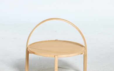 """THOMAS SANDELL. """"Elna"""", coffee table, Gärsnäs, clear lacquered ash."""