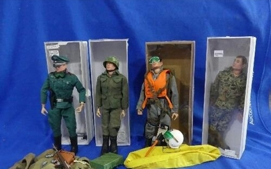 Action Man; A late 1960's Scramble Pilot, together with a 19...