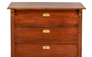 Art Nouveau chest of drawers around