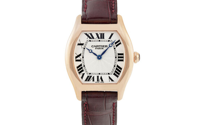 "CARTIER, PINK GOLD, ""CPCP"" TORTUE"
