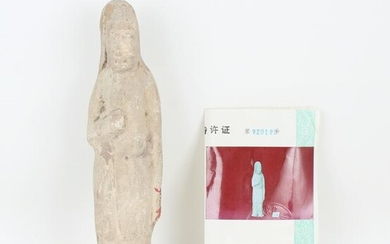 Chinese Tang Dynasty Terracota Tomb Figure
