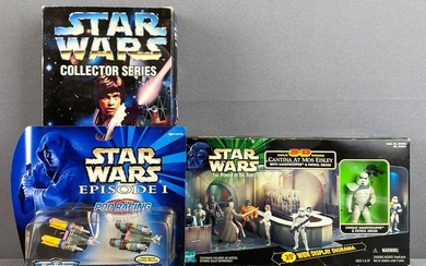 Group of 3 assorted Star Wars action figures