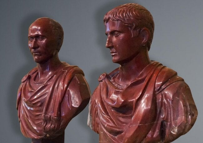 PAIR OF BUSTS