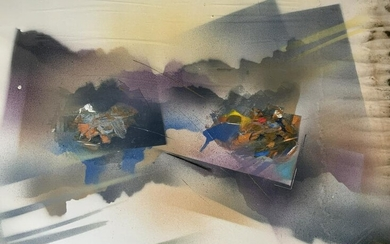 Signed Abstract Lithograph