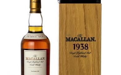 The Macallan Fine & Rare 31 Year Old 43.0 abv 1938 (1 BT70)