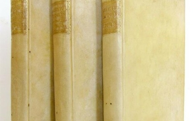 1780 3 volumes WORKS OF COUNT OF SHAFTSBURY in FRENCH