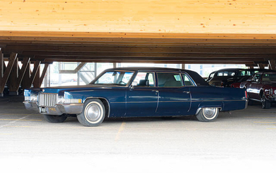 1970 Cadillac Fleetwood Seventy-Five Limousine, Chassis no. S0245730