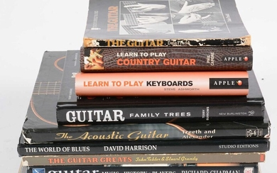 9 Guitar Reference books