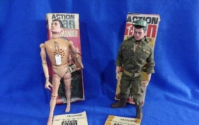 Action Man; A boxed 1966 Action Soldier figure, together wit...