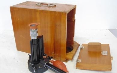 Bausch & Lomb Dust Counter, Cased with Data Sheets