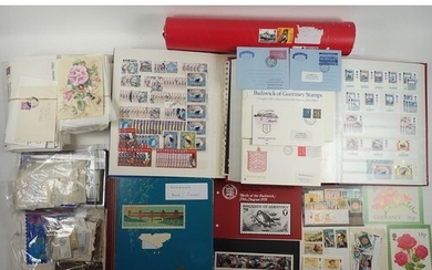 Channel Islands: Large box full of mainly QEII mint & used G...